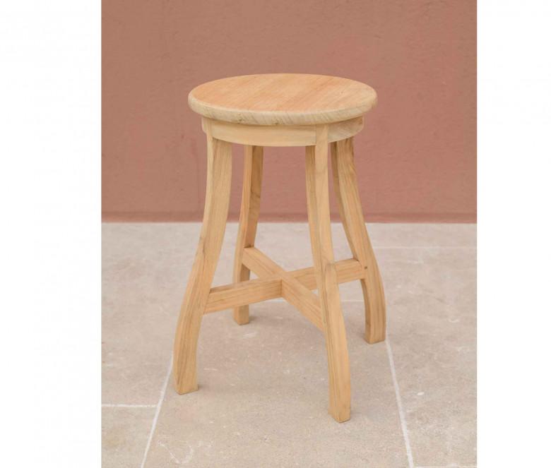 Teak stool