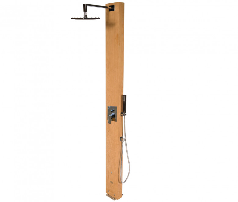 Shower with mixer + showerhead Ø 20 cm