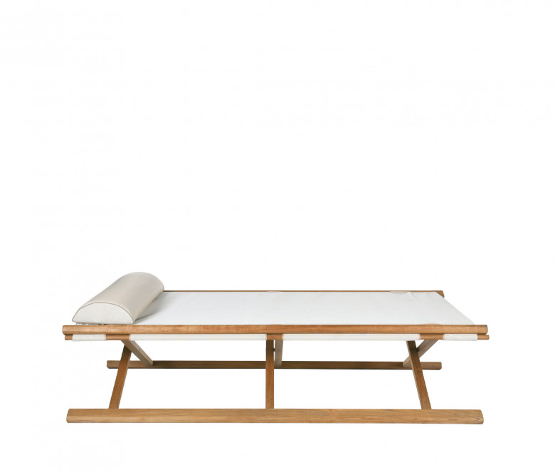 Ecru folding bed