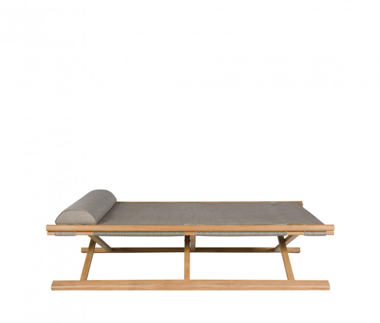 Eden taupe folding bed