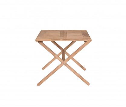 Teak folding table 80 x 70 cm