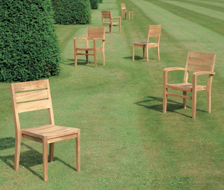 Stackable chair - Exeter