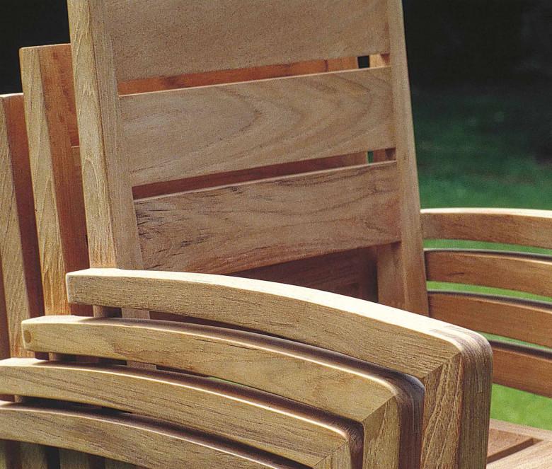 Stackable armchair - Exeter