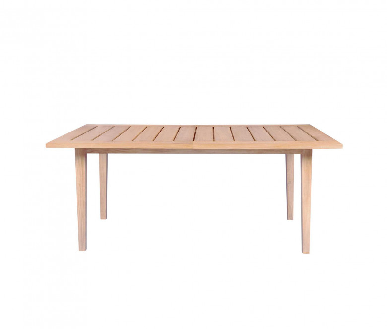 Extendable rect. table - Exeter