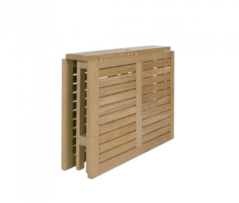 Folding table in teak - Gateleg