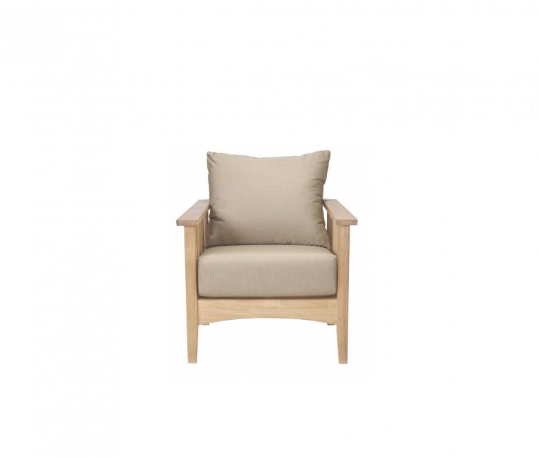 Teak reclining sofa