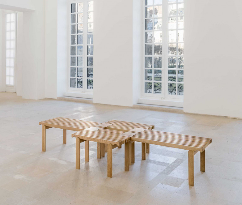 Oak bench (small model)