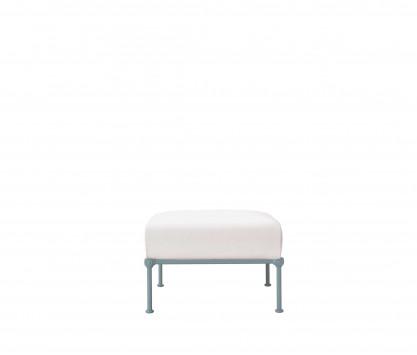 Aluminum footrest - BLUE