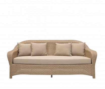 3-seat in woven resin sofa