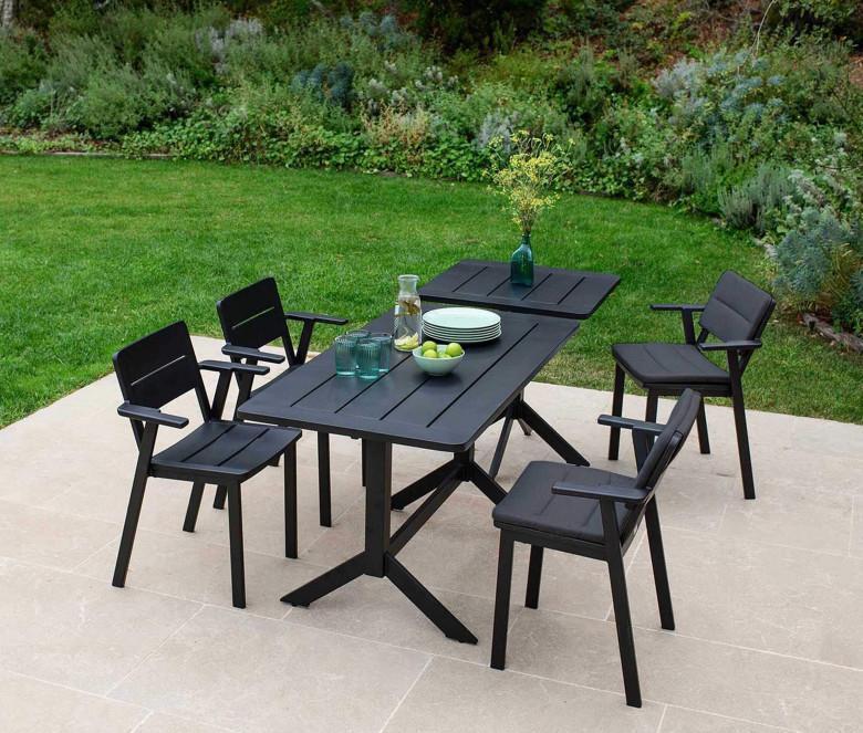 Rectangular table in aluminium - Clubhouse