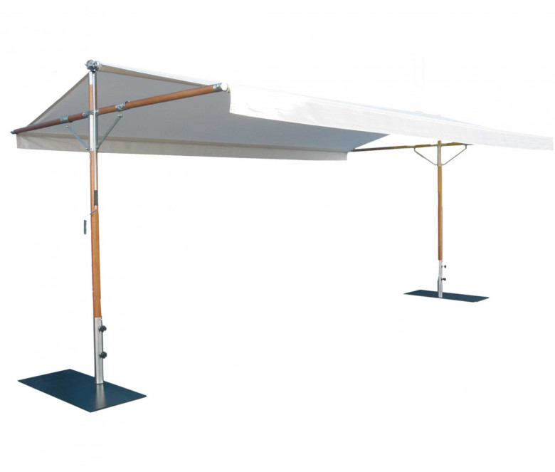 Varnished wood tent - Butterfly