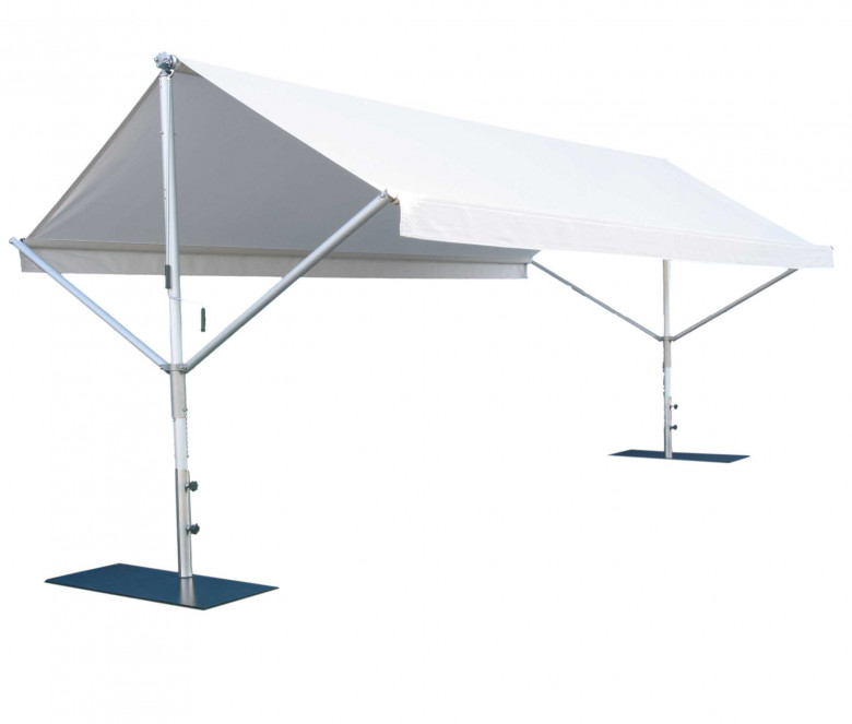 Stainless steel tent - Butterfly
