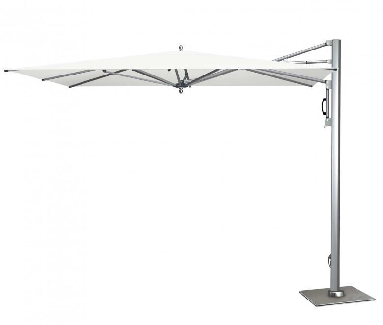 Cantilever parasol square - Flamingo