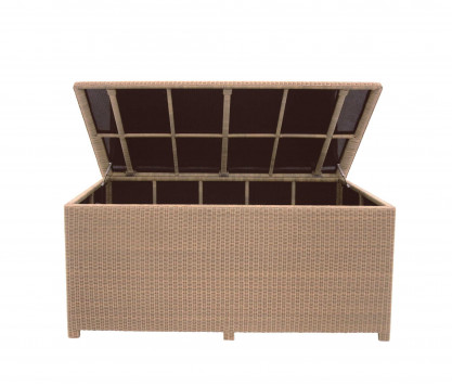 Woven resin waterproof chest