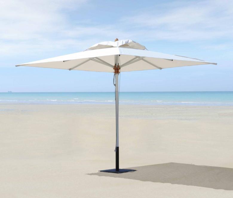 Square parasol 3 x 3 m