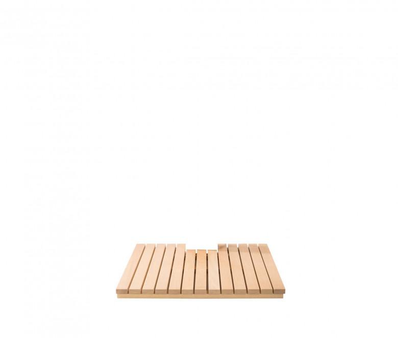 Teak duckboard 80 x 80 cm