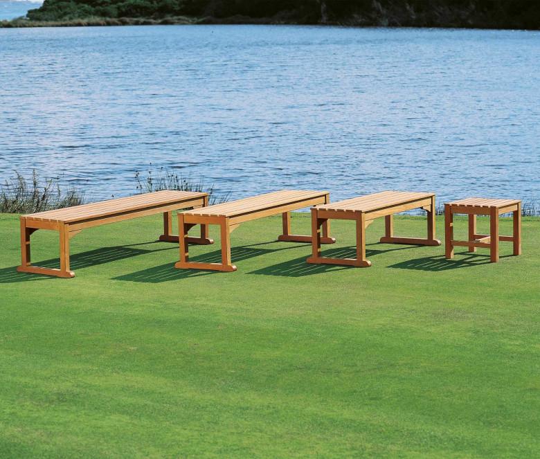 Teak bench 120 cm