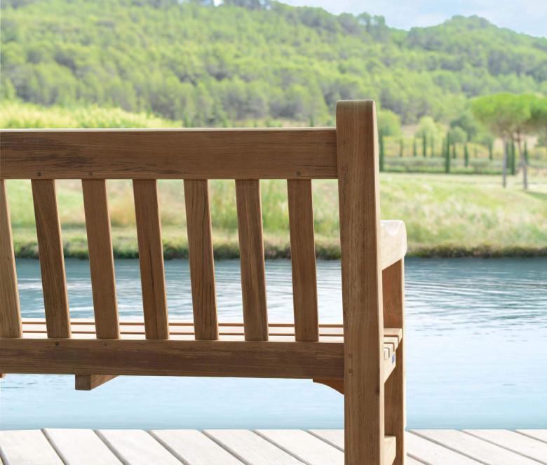 Teak bench 150 cm
