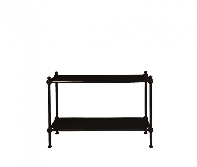 Aluminum console - BLACK