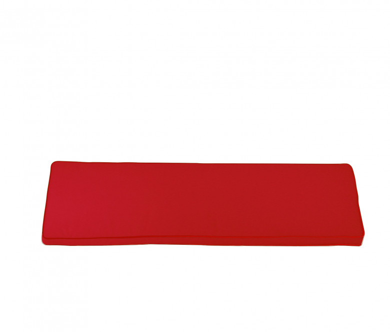 Seat cushion for bench 180 cm - Red