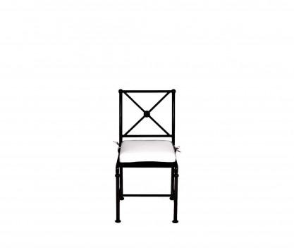 Aluminum chair - BLACK
