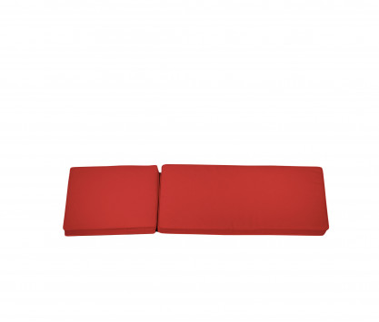 Sun lounger red Mattress - Camarat