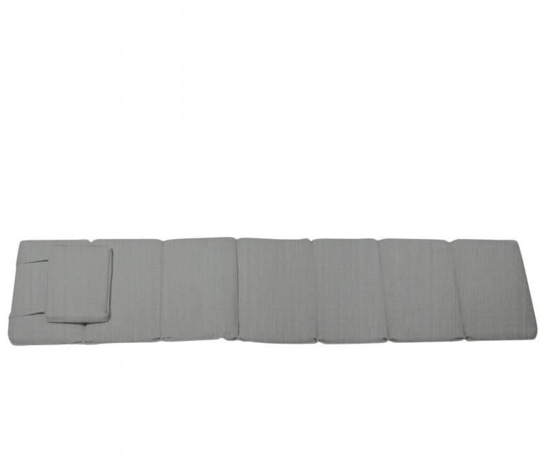 Steamer taupe mattress - Normandie