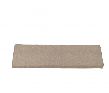 Seat cushion for bench  120 cm - Sand