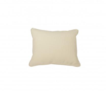 Back rest cushion ecru