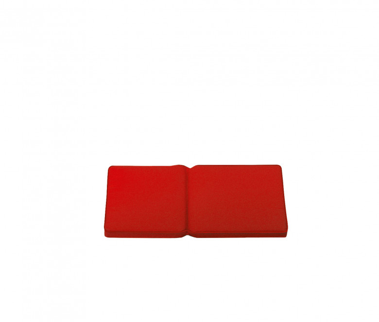 Seat and back rest cushion - Red