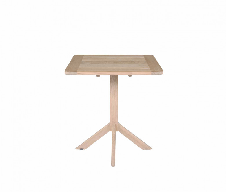 Mesa cuadrada de teca 70 x 70 cm