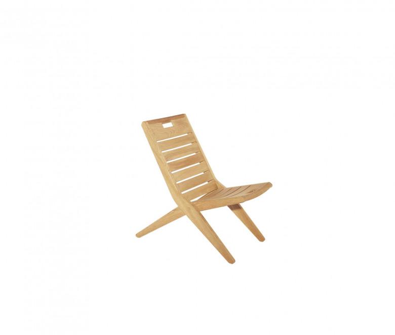 Silla plegable asiento bajo - Exeter/Positano