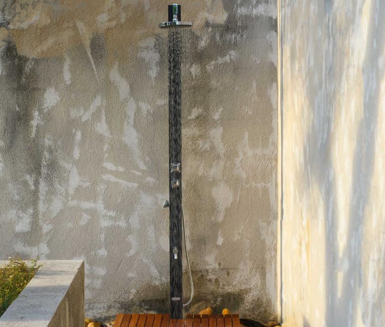 Ducha MARINA + Cabezal de ducha cuadrado 20 cm
