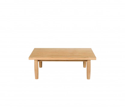 Mesa baja rectangular de teca