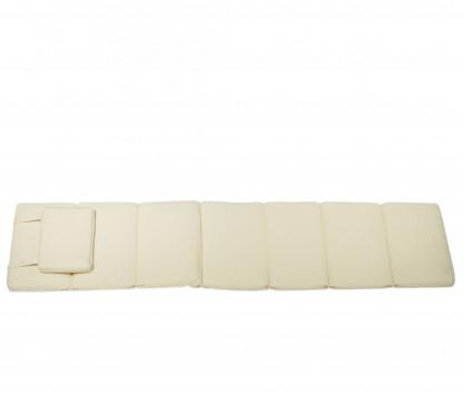 Colchoneta Tumbona crudo - Normandie