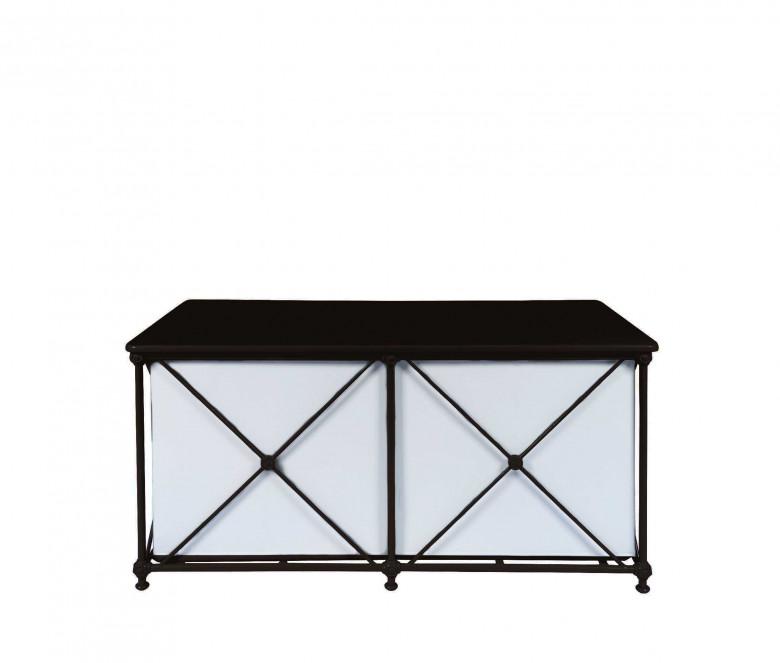 Baúl de aluminio - NEGRO