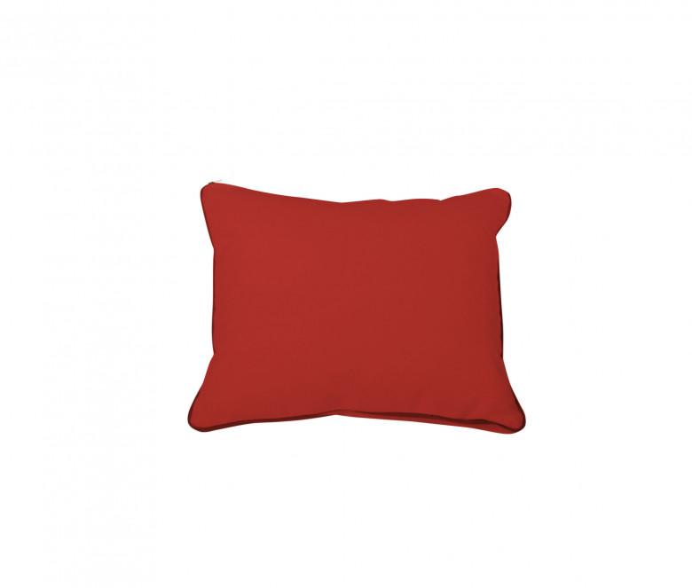 Cojín de respaldo - Rojo