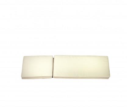 Colchoneta Chaise-longue crudo - Camarat XL