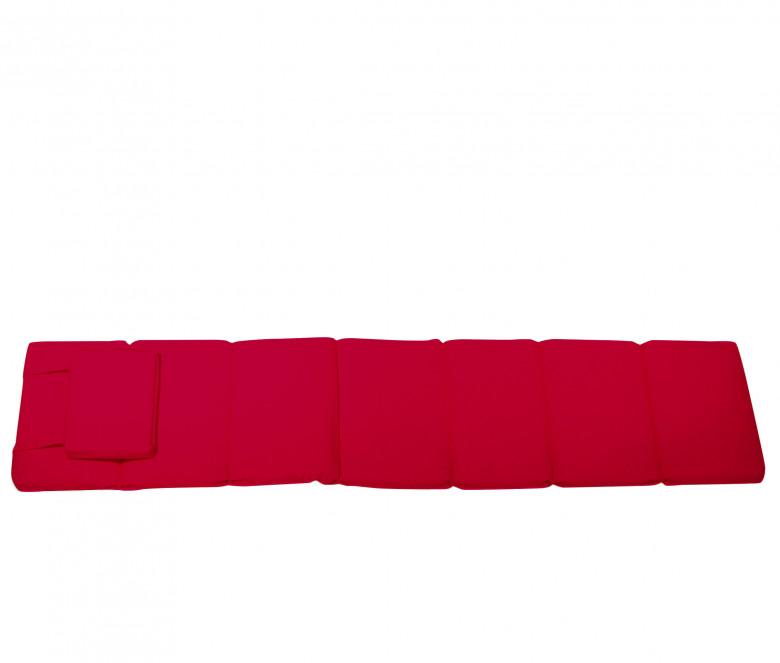 Colchoneta Tumbona rojo - Normandie