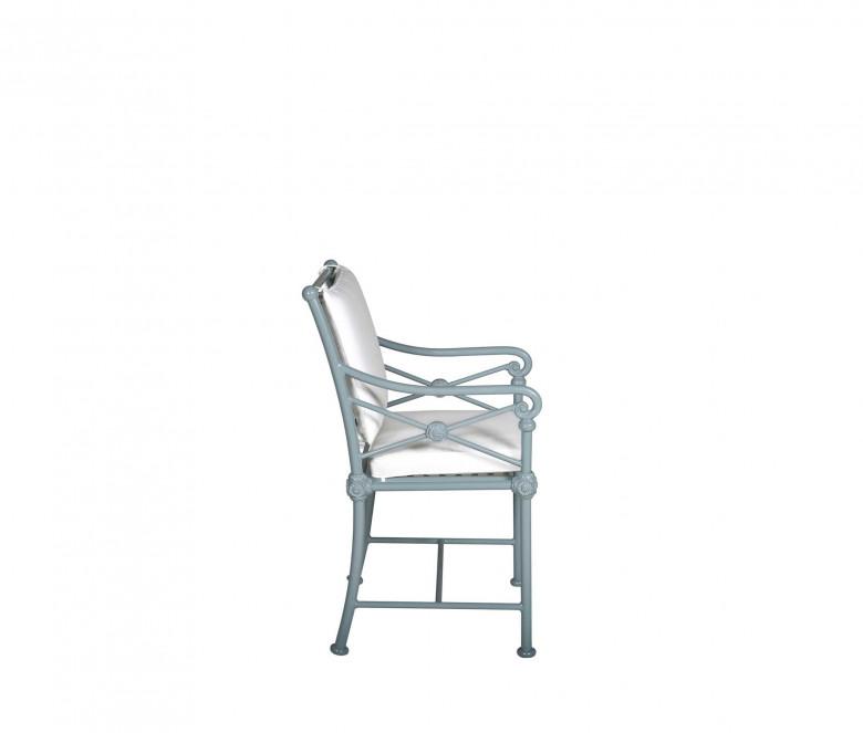 Coussin dossier fauteuil de jardin 1800