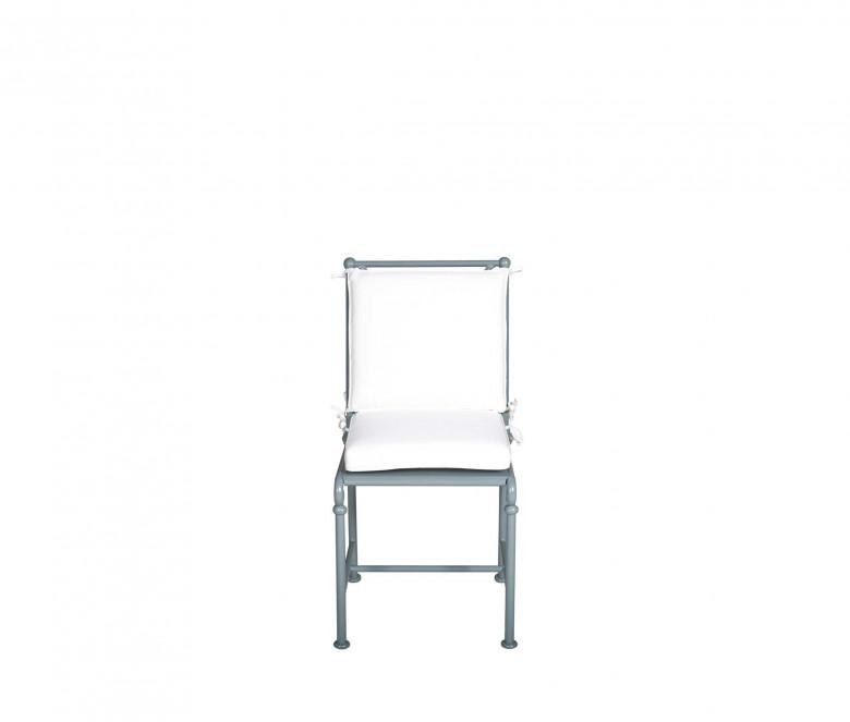 Coussin dossier chaise de jardin 1800