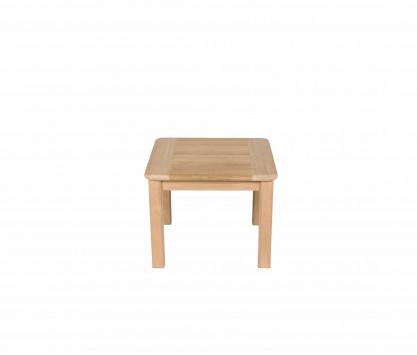 Table basse carrée en teck