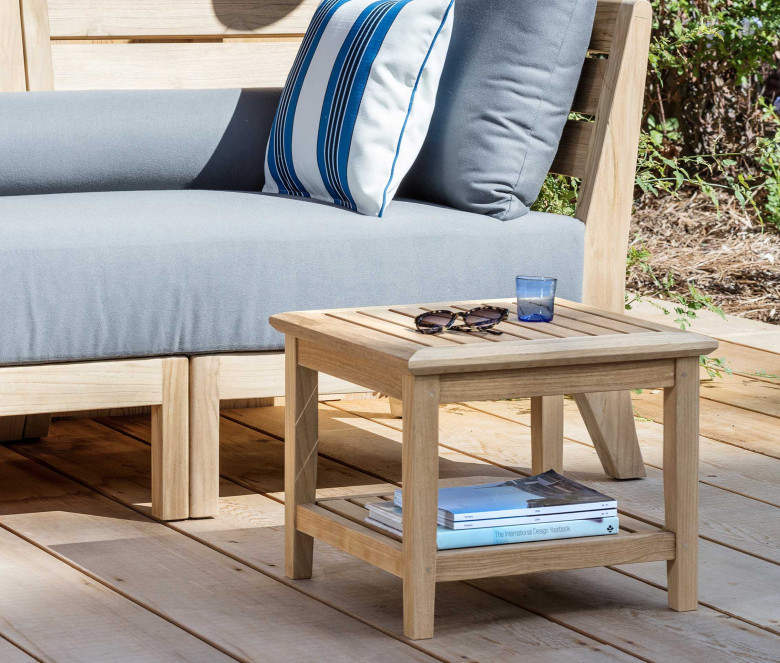 Table basse carrée 50 cm - Duxford