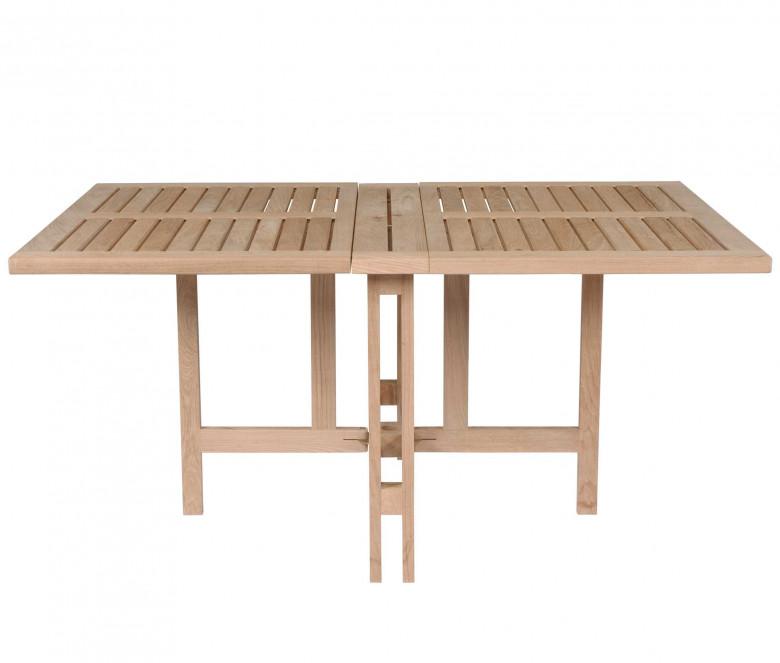 Table pliante en teck - Gateleg