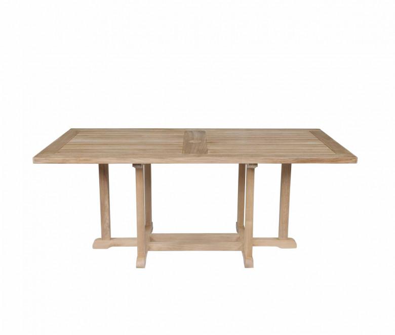 Table rectangulaire en teck
