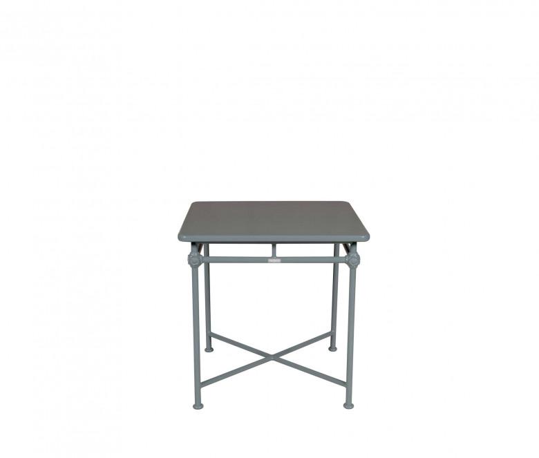 Table carrée en aluminium 75x75 cm - 1800 BLEU