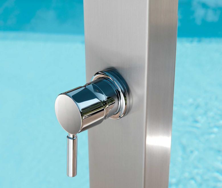 Douche avec mitigeur + pomme douche Ø 20 cm