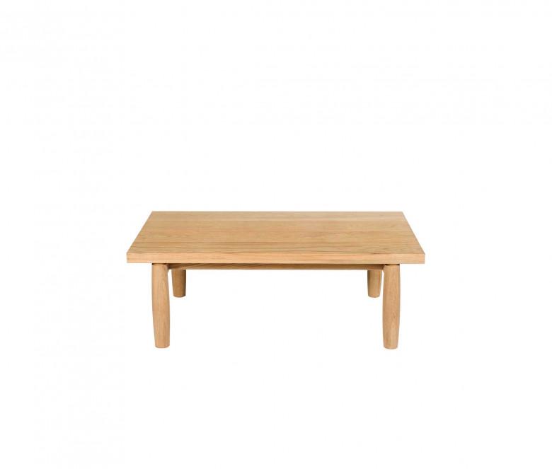 Table basse rectangulaire en teck