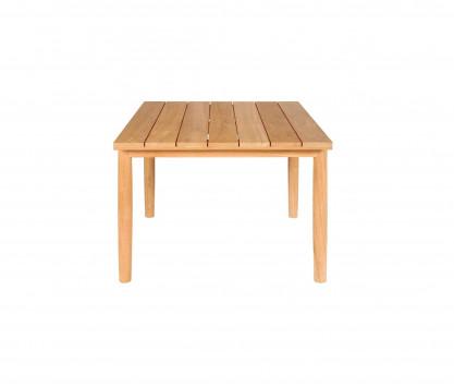 Table carrée 100 x 100 cm en teck