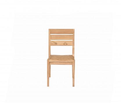 Chaise empilable en teck